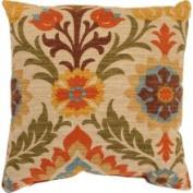 Pillow Perfect 474199 Santa Maria 41.9cm Throw Pillow in Adobe