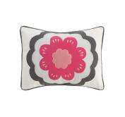DwellStudio Zinnia Rose Boudoir Pillow