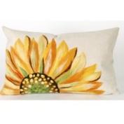 Sunflower Yellow 12x20 Pillow