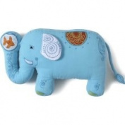 The Little Acorn F12P00-B Funny Friends Elephant Pillow