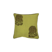 Surya P0111-2222P 22 in. x 22 in. Poly-Filler Decorative Pillow - Green