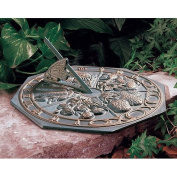 Butterfly Sundial - French Bronze