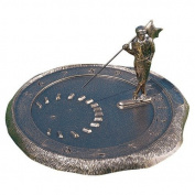 Whitehall Products 00494 Golfer Sundial Oil Rubbed Bronze