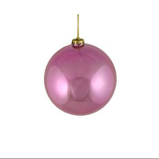 """Shiny Pretty in Pink Shatterproof Christmas Ball Ornament 6"""""""