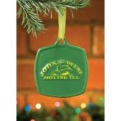 John Deere Christmas Ornament 1876 Vintage Logo #615862