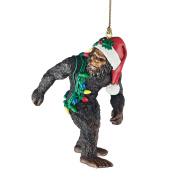 Design Toscano Bigfoot The Holiday Yeti Holiday Ornament