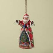 Jim Shore Ornament - O Tannenbaum Santa