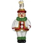 Old World Christmas Jolly Clown Glass Ornament
