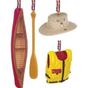 Outside Inside 148733 Paddling Ornament Set