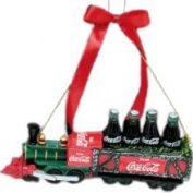 Kurt Adler 6 Coke Classic Coca-Cola Soda Pop Train Christmas Ornament