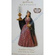 Scarlett O'Hara Gone with The Wind 2010 Hallmark Ornament