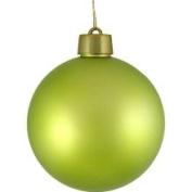 DAK Huge Matte Key Lime Green Shatterproof Christmas Ball Ornament 12 300mm
