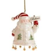 Lenox Santa Believe Porcelain Ornament