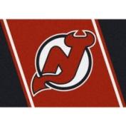 New Jersey Devils 3' 25cm x 5' 10cm Team Spirit Area Rug