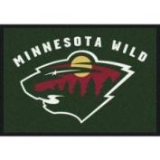 Minnesota Wild 3' 25cm x 5' 10cm Team Spirit Area Rug