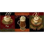 New Wave Kitchen Caffe Latte Primary 50.8cm x114.3cm Rug - 10738 490 020045