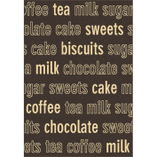 Dynamic Rugs Trend Chocolate Novelty Rug Size