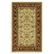 Safavieh Lyndhurst Collection Ivory and Red 2' 3 x 6' Rectangle Rug