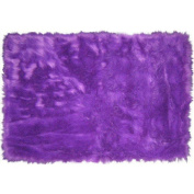 "Fun Rugs Purple Flokati Collection Rug - 31"" x 47"""