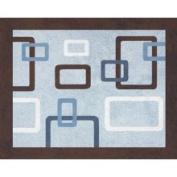 Geo Blue Collection Floor Rug by Sweet JoJo Designs