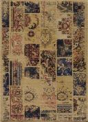 Momeni - Vintage VIN-7 1'20.3cm x 2'20.3cm Rectangular Sand Area Rug