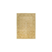 Surya ANT9703-1616 Antolya Rug- 100% Semi-Worsted New Zealand- Hand Knotted- Taupe/Mushroom/Gold/Pale Gold- 0.3m x 1.8m'X1'0.3m x 1.8m