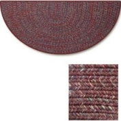 Goods of The Woods 10690 Braided Multicolor - Red Braided Hearth Rug