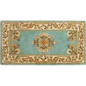 Minuteman International Jardin Rectangular Hearth Rug, 111.8cm . x 55.9cm . Wintergreen