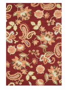 Loloi Rugs Juliana Red Rug Rug Size