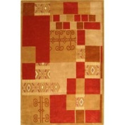 Safavieh Rodeo Drive Collection RD873A Handmade Wool Area Rug, 0.9m by 1.5m, Multicoloured