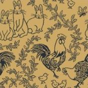 Joy Carpets Nature Feathers & Fur - 428 3'25.4cm x 5'10.2cm Navy Area Rug