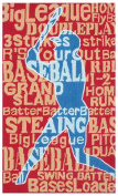 The Rug Market 11787B 2.8 x 4.8 Batter Up Rug