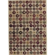 Sphinx - Generations 1939I 4' x 5'22.9cm Rectangular Beige / Red Area Rug