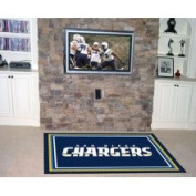Fanmats 06601 Nfl - San Diego Chargers 5 X 8 Rug