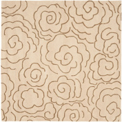 Safavieh Soho Contemporary Hand Tufted Beige / Multi Rug - SOH812E-6SQ