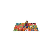 Carpets For Kids 2900 Animal Sounds Toddler 1.8m x 0m x 1.8m x 0m Rectangle Rug