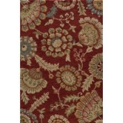 Hand-tufted Copia Catalina Burgundy Polyester Rug (