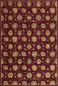 KAS Oriental Rugs Cambridge Red Tabriz Panel Rug Rug Size