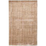 Surya SH7409-23 Beige Shibui Collection Rug - 0.61m x 0.91m