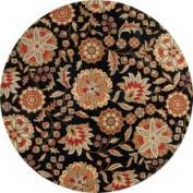 Surya Carpet Hand-tufted Black Treasures Wool Rug