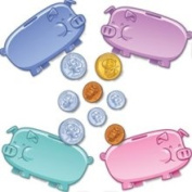 Edupress EP-3142 Piggy Bank BB Set Accent