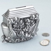 Lillian Rose 24BK720 A Noahs Ark Pewter Bank