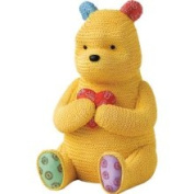 Classic Pooh Knitted Pooh Money Bank