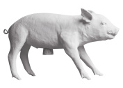 Areaware 4167774 Bank in The Form of A Pig Gold
