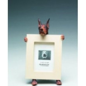 Doberman Red -2.5x3.5 Picture Frame