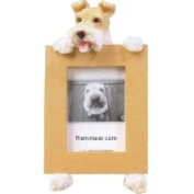 Wire Fox Terrier 6.4cm x 8.9cm Photo Picture Frame