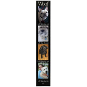 JAF Gifts 4-Opening 4x6 Woof Vertical Picture Collage Frame