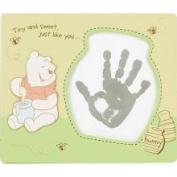 Disney Winne The Pooh Handprint Kit Frame by CR Gibson C.R. Gibson