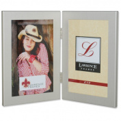 Lawrence Frames Hinged Double Picture Frame Size