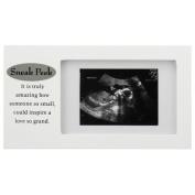 Malden Sneak Peek Sonogram Juvenile Frame, White